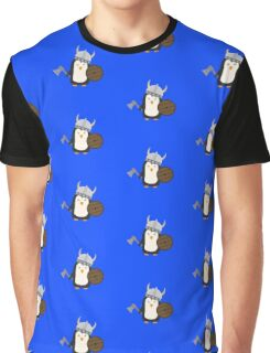 Penguin Viking   Graphic T-Shirt