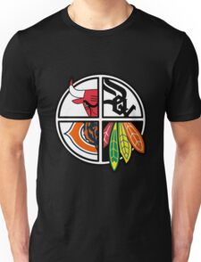 Chicago - Dedicated To All Chicago Sport Teams Lovers Unisex T-Shirt