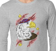Bald Eagle, 'MURICAAAAAA Long Sleeve T-Shirt