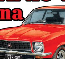 Holden XU1 LJ Torana in Red Sticker