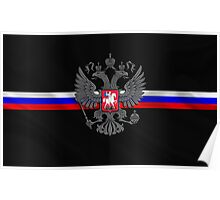 RuSSian FlaG Poster