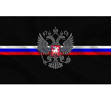 RuSSian FlaG Photographic Print
