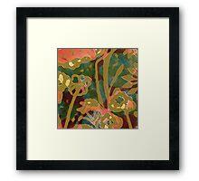 Byron Bay Tropicana Framed Print
