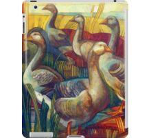 goose lombardella  (anser albifrons) iPad Case/Skin