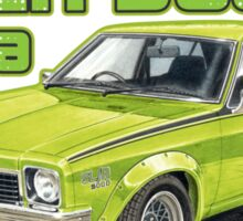 Holden SLR 5000 Torana in Green Sticker