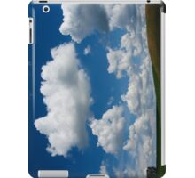 Hill with Cumulus iPad Case/Skin