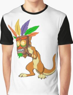 Aku Aku and Daxter  Graphic T-Shirt