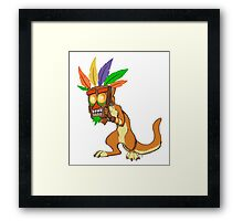 Aku Aku and Daxter  Framed Print
