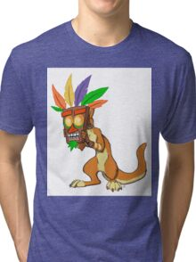 Aku Aku and Daxter  Tri-blend T-Shirt