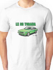 Holden LX SS Torana in Green Unisex T-Shirt