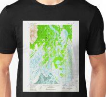 USGS TOPO Map Alaska AK Tyonek B-2 360015 1958 63360 Unisex T-Shirt