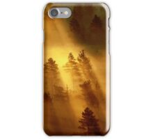 5.7.2014: When Light Is Born IV iPhone Case/Skin