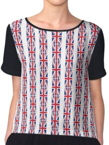 Flag of Great Britain - UK Flag Duvet Cover Sticker and Shirt Chiffon Top