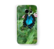 Butterfly Blue Samsung Galaxy Case/Skin