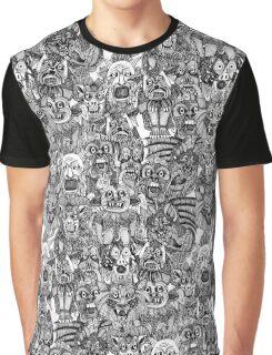 gargoyles black white Graphic T-Shirt
