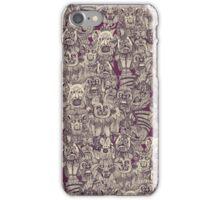 gargoyles purple iPhone Case/Skin