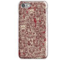 gargoyles red iPhone Case/Skin