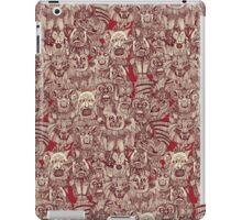 gargoyles red iPad Case/Skin
