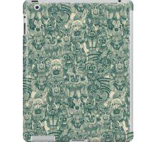 gargoyles teal iPad Case/Skin