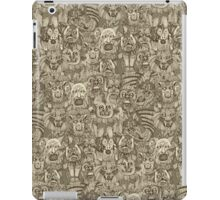 gargoyles vintage iPad Case/Skin