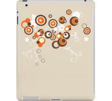 retro bubbles iPad Case/Skin