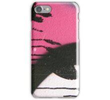 pink graffiti drips iPhone Case/Skin