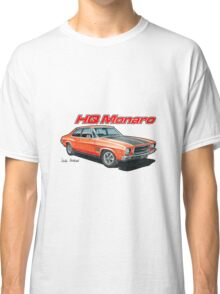 Holden HQ Monaro in Red Classic T-Shirt