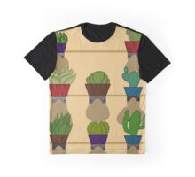 cacti -vertical Graphic T-Shirt