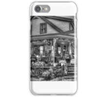 Antiques & Whimsy Monochrome iPhone Case/Skin