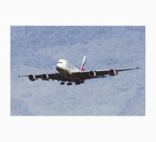 Emirates A380 Airbus Oil Baby Tee