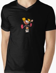 Dexter's Laboratory Mens V-Neck T-Shirt