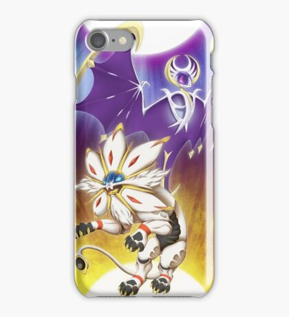 Pokemon - Solgaleo and Lunala iPhone Case/Skin
