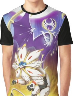 Pokemon - Solgaleo and Lunala Graphic T-Shirt