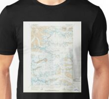 USGS TOPO Map Alaska AK McCarthy D-5 357344 1960 63360 Unisex T-Shirt