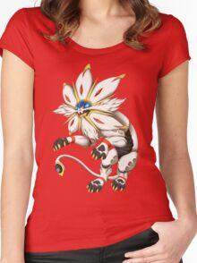 Pokemon - Solgaleo Women's Fitted Scoop T-Shirt