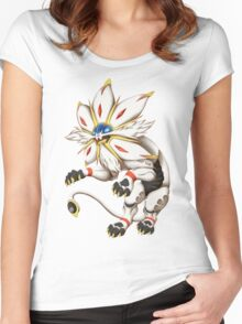 Pokemon - Solgaleo Women's Fitted Scoop T-Shirt