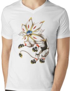 Pokemon - Solgaleo Mens V-Neck T-Shirt