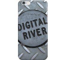 Digital River Check Plate iPhone Case/Skin