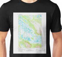 USGS TOPO Map Alaska AK Ugashik B-4 360103 1954 63360 Unisex T-Shirt