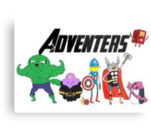 Aventers (Adventure time Avengers) Metal Print