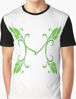 Letter M Graphic T-Shirt