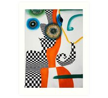 """Thoughts of """"E"""" Art Print"""