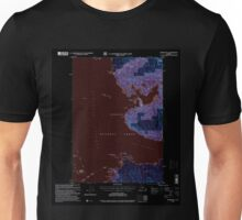 USGS TOPO Map Alaska AK Sumdum B-5 359378 1996 63360 Inverted Unisex T-Shirt