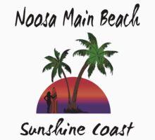 Noosa Main Beach Sunshine Coast Kids Tee