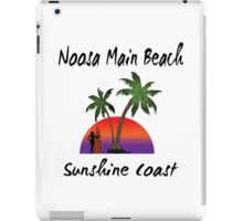 Noosa Main Beach Sunshine Coast iPad Case/Skin
