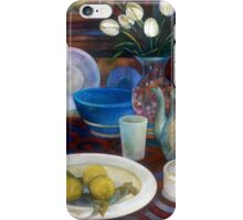 still life with tulips iPhone Case/Skin