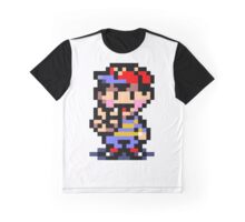 (Earthbound) Ness Peace Sign Graphic T-Shirt