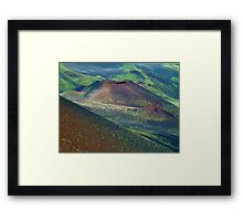 Etna Colors at 2000 mtrs. Framed Print