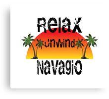 Relax, Unwind Navagio Canvas Print