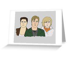 SH Trio Greeting Card